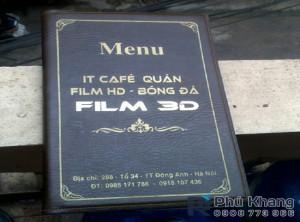 cơ sở sản xuất bìa menu